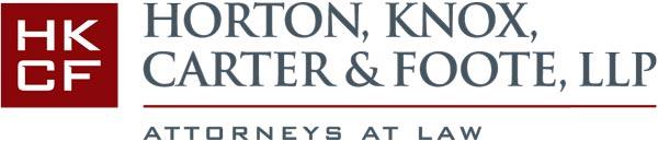 Logo: Horton, Knox, Carter & Foote, LLP
